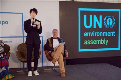 王俊凯联合国环境大会全英文演讲  最年轻亲善大使为环保发声